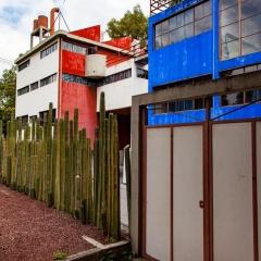 Frida Kahlo and Diego Riviera studios