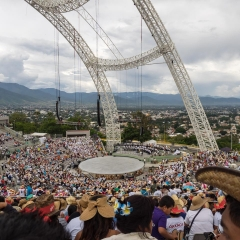 Our view of the Guelaguetza festival