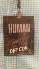 Defcon 23 Badge (paper replacement)