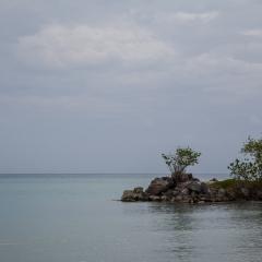 The Caribbean Sea at Oracabessa