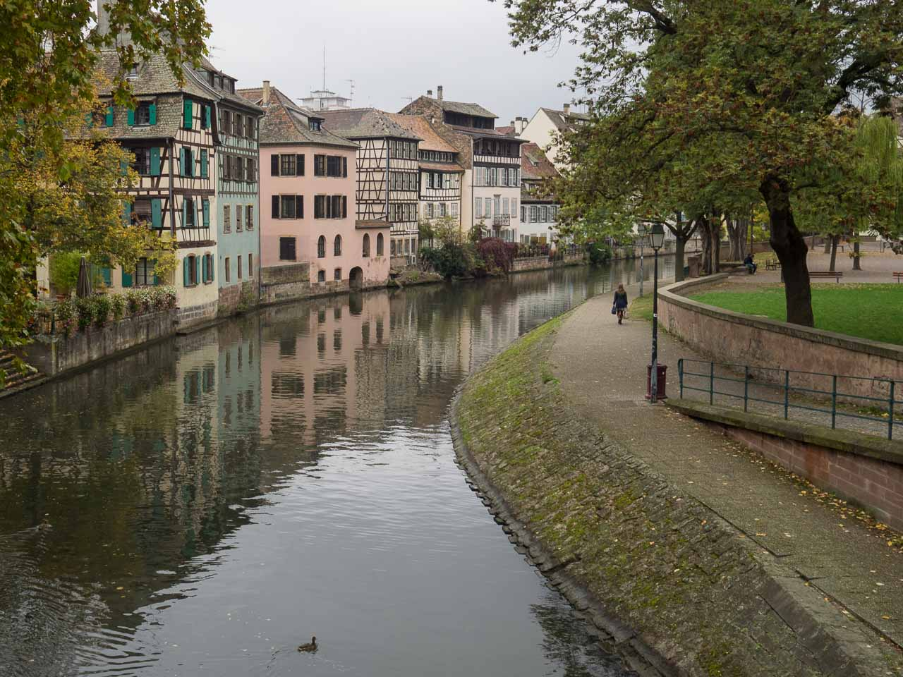 Canal, Strasbourg, France