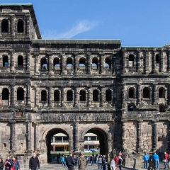The Black Gate of Trier Germany