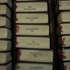 Prayer books, Trier Dom, Trier, Germany
