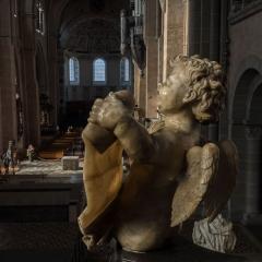 Cherub statue, Trier Dom, Trier, Germany