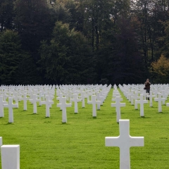 Allied Cemetery in Luxembourg