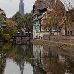 Canals of Strasbourg, France