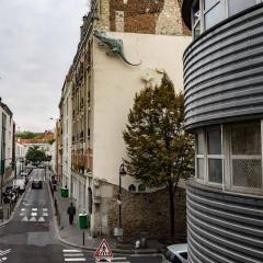 View from Chemin de fer de Petite Ceinture