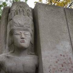 Oscar Wilde\'s Grave, Pere Lachaise