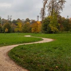 Park pathway in Versailles