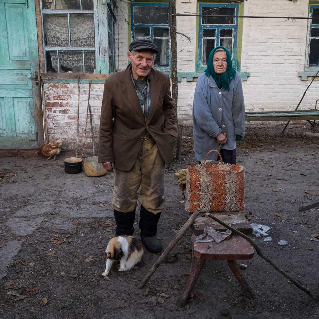 Ivan Ivanovich and Maria Kondrativna in Paryshiv Village