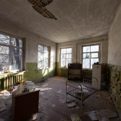 Inside the kindergarten in Pripyat