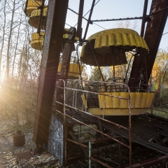 Ferris Wheel - Pripyat Amusement Park