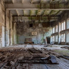 Gym inside Pripyat