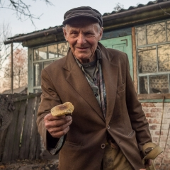 Ivan Ivanovich, a Self Settler After Foraging for Mushrooms