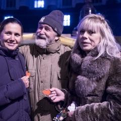 Natalie, Maidan Veteran, and a friend