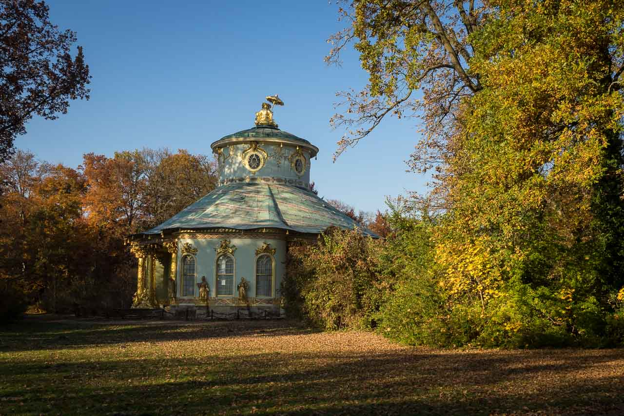 Tea House in Park San Souci, Potsdam