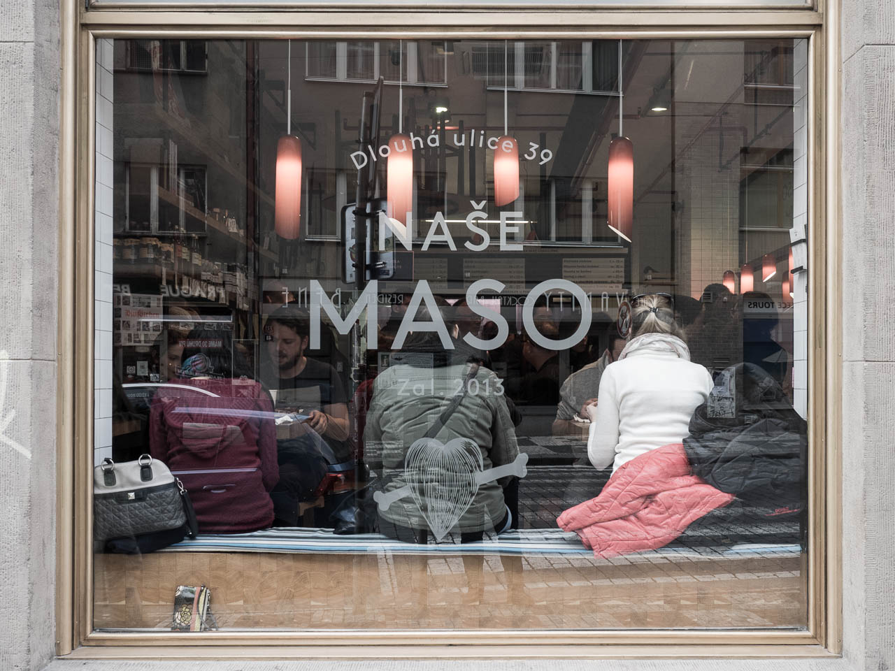 Nase Maso restaurant and butchery, Prague