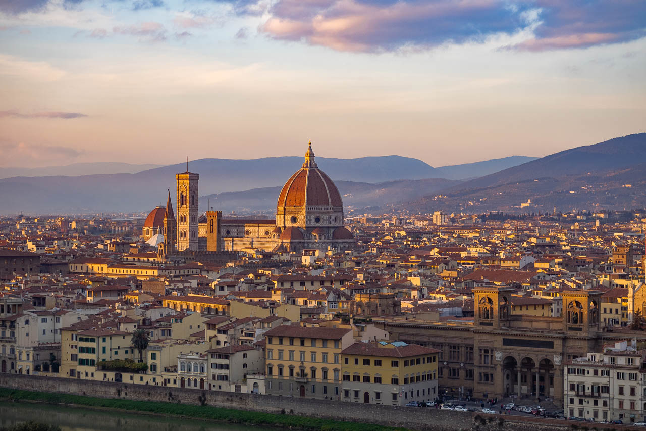 Il Duomo from Piazzale Michelangelo
