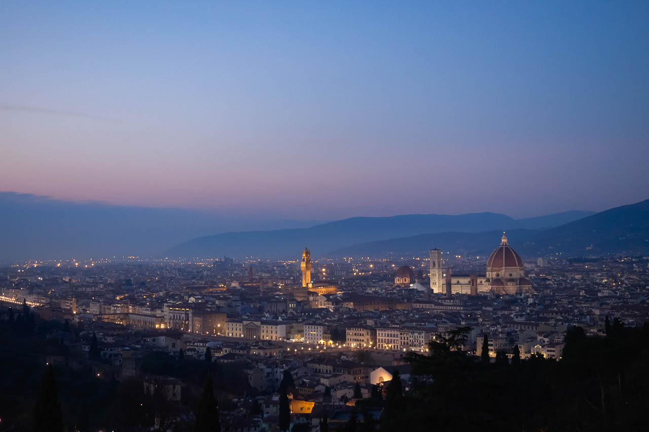 View of Florence from Basilica San Miniato al Monte