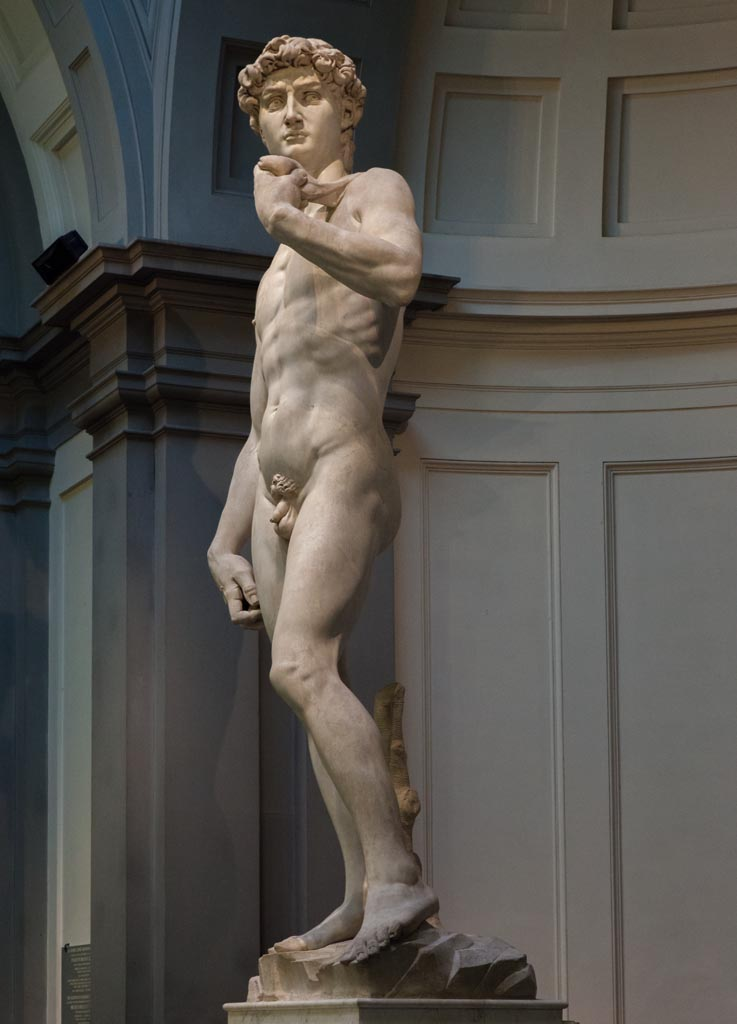 Statue David by Michelangelo