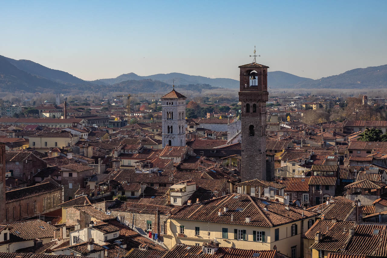 Lucca, view from the belltower