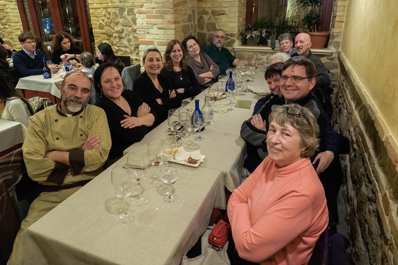Workshop at La Tavernaccia da Bruno