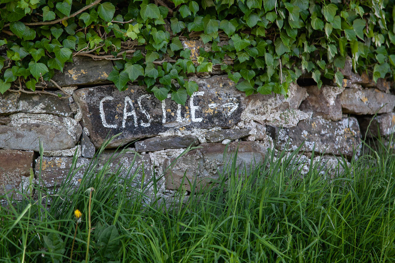 This way to the castle